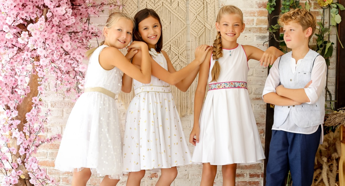 Tenue cérémonies de mariage pour filles et garçon de 2 à 14 ans