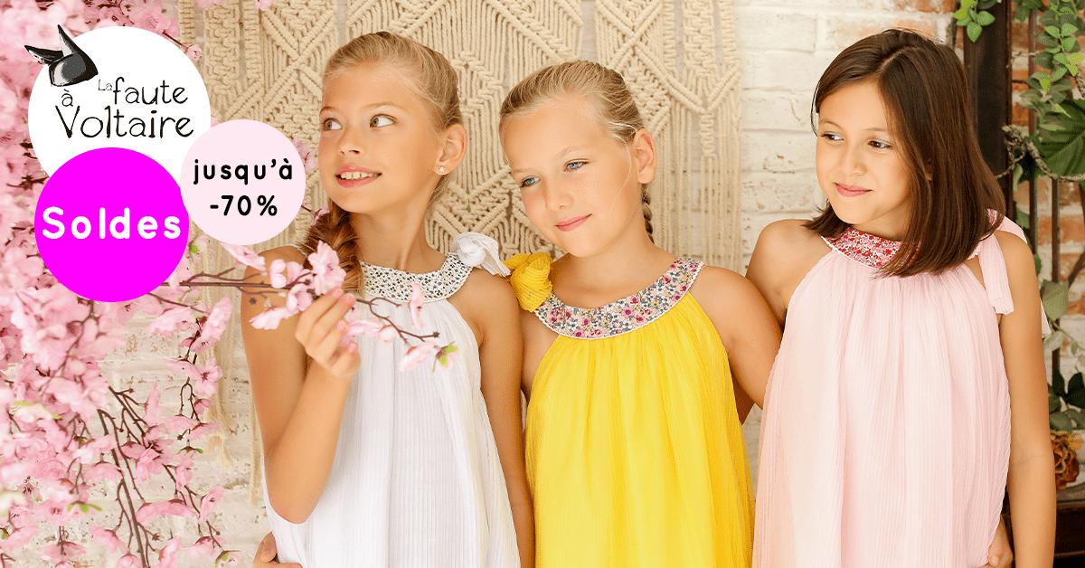 Display paysage robes de cérémonies pour filles de 2 à 16 ans