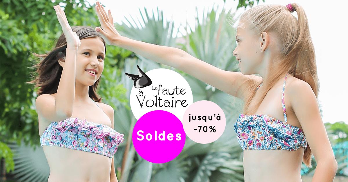 Display paysage maillots de bain bikinis pour filles de 2 à 16 ans