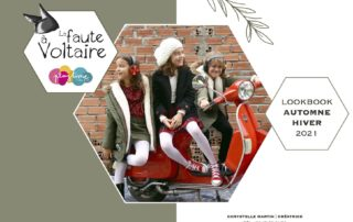 Nouvelle collection mode automne hiver pour filles et garçons de 2 à 16 ans de la marque de mode française en commerce équitable pour enfants LA FAUTE A VOLTAIRE